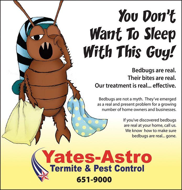 Yates-Astro Bedbugs